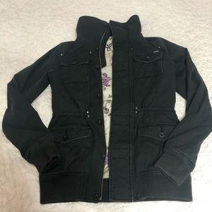 Aritzia TNA Dark Gray Jacket